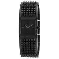 DKNY Bryant Park Black Black Ion-plated Studded Ladies Watch