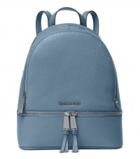 Michael Kors Rhea Medium Backpack Denim