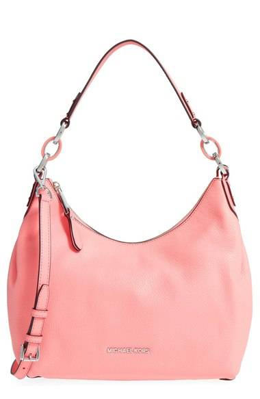 60bddcc3338f Michael Kors Medium Isabella Convertible Leather Shoulder Bag